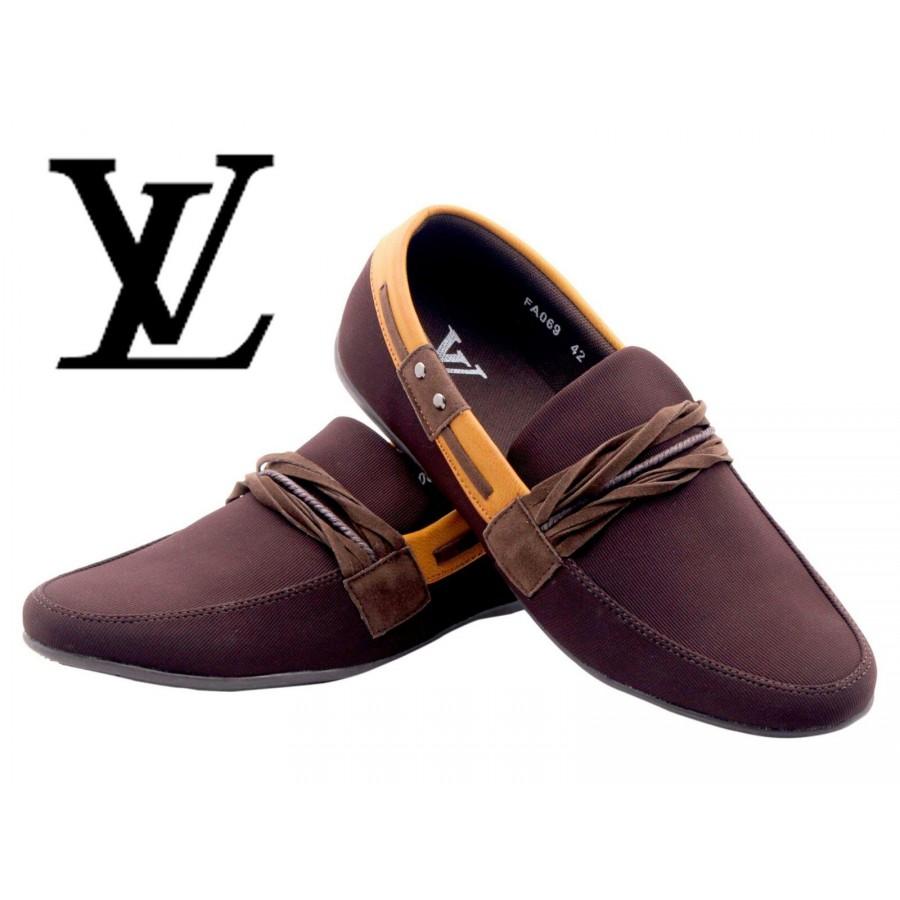 Louis Vuitton Men Brown Shoes LV1