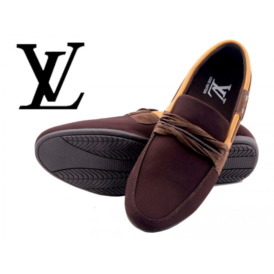 Louis Vuitton Men Brown Shoes LV1