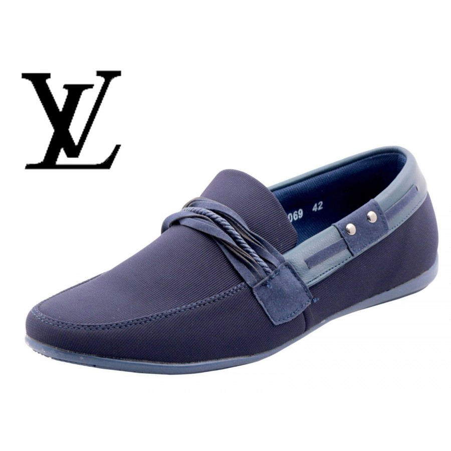 Louis Vuitton Men Blue Shoes LV2