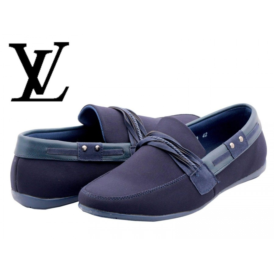 Louis Vuitton Men Blue Shoes LV2