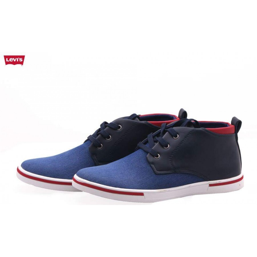 69b7ab1c15 Sale Levis Stylish Casual Shoes in Blue L1 ...