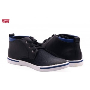 Levis Stylish Casual Shoes in Black L2