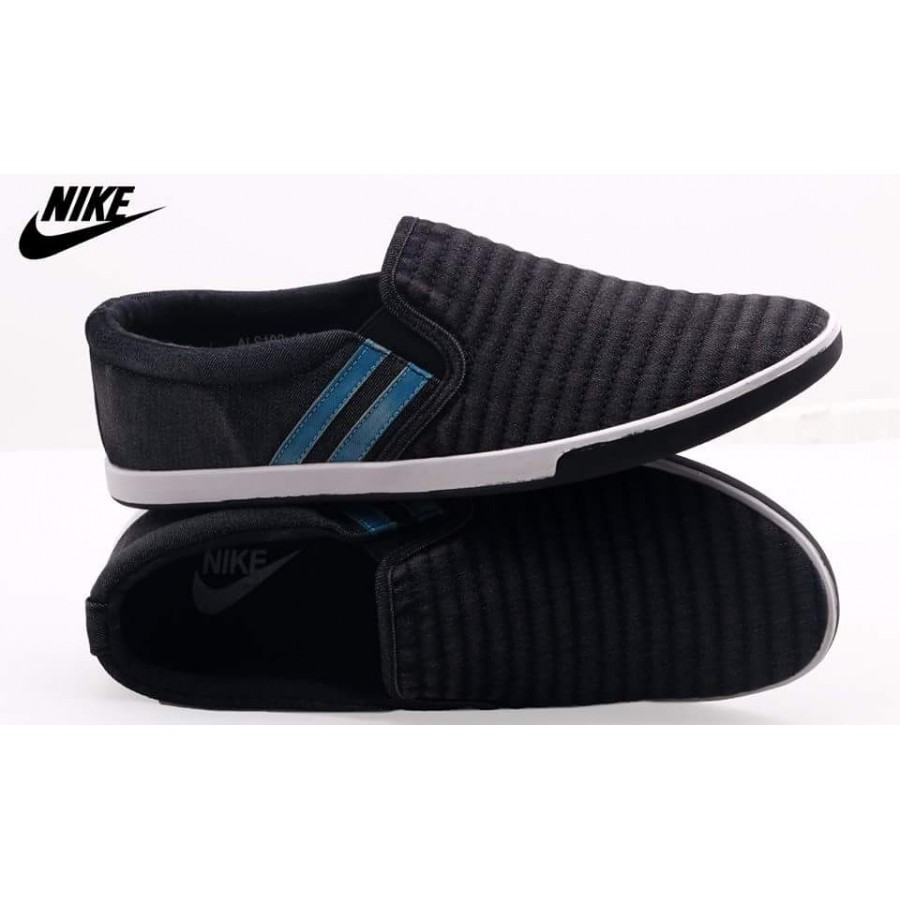 Nike Stylish Black Comfort Loafer Shoes N2