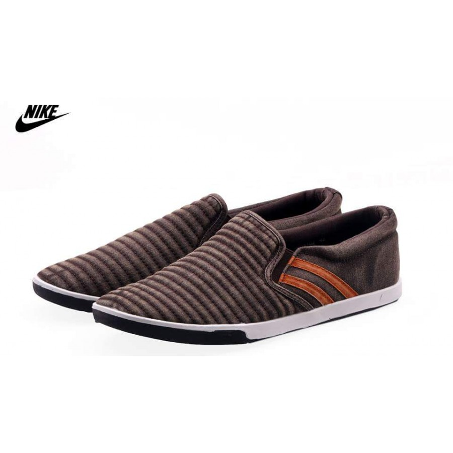 Nike Stylish Brown Comfort Loafer Shoes N3
