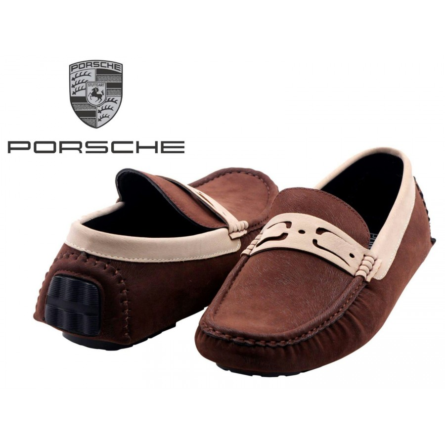 Porsche Men Brown Shoes P1