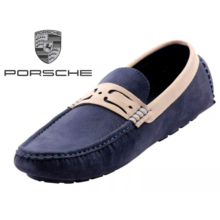 Porsche Men Blue Shoes P2