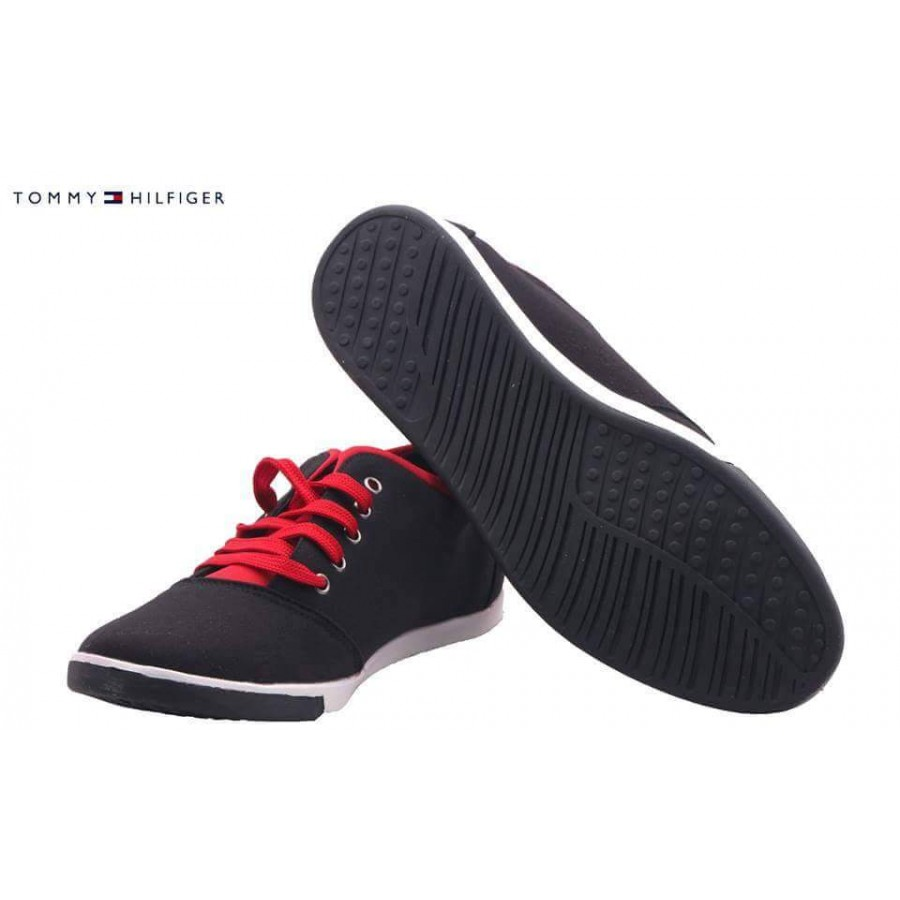 Tommy Stylish Red Laced Shoes T1