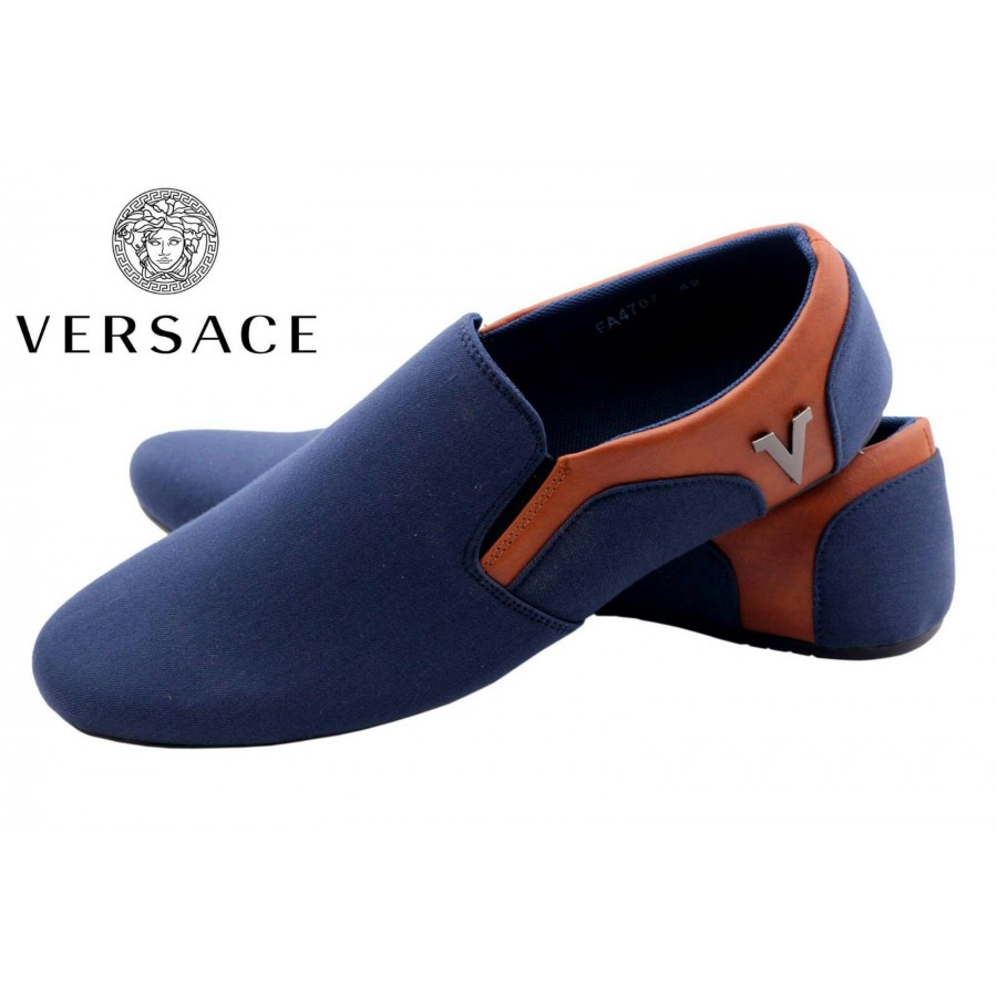 Versace Men Blue Shoes V4