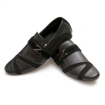 Zara Black Stylish Design Loafers Z7