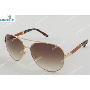 Chanel Golden Brown Aviator