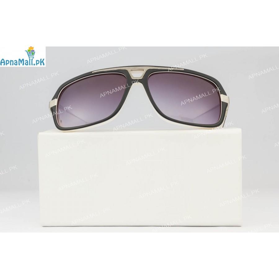 Christian Dior Silver Black Sunglasses