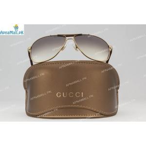 Gucci Golden Brown Aviator