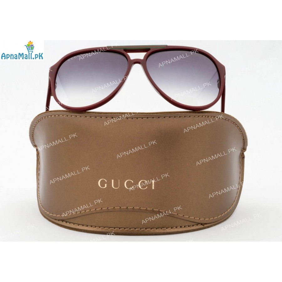 Gucci Red Aviator