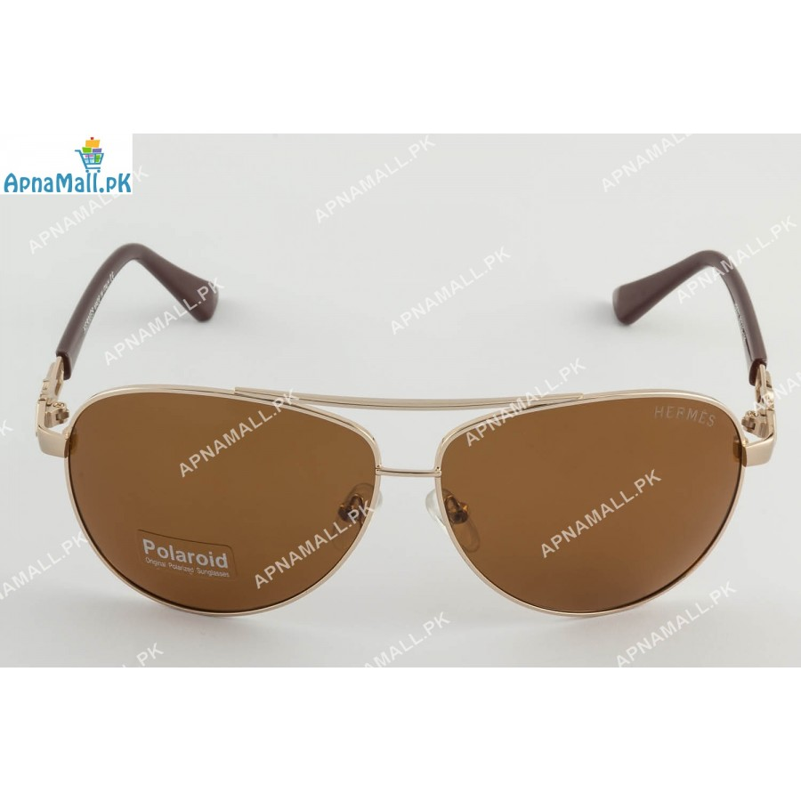 Hermes Golden Brown Aviator