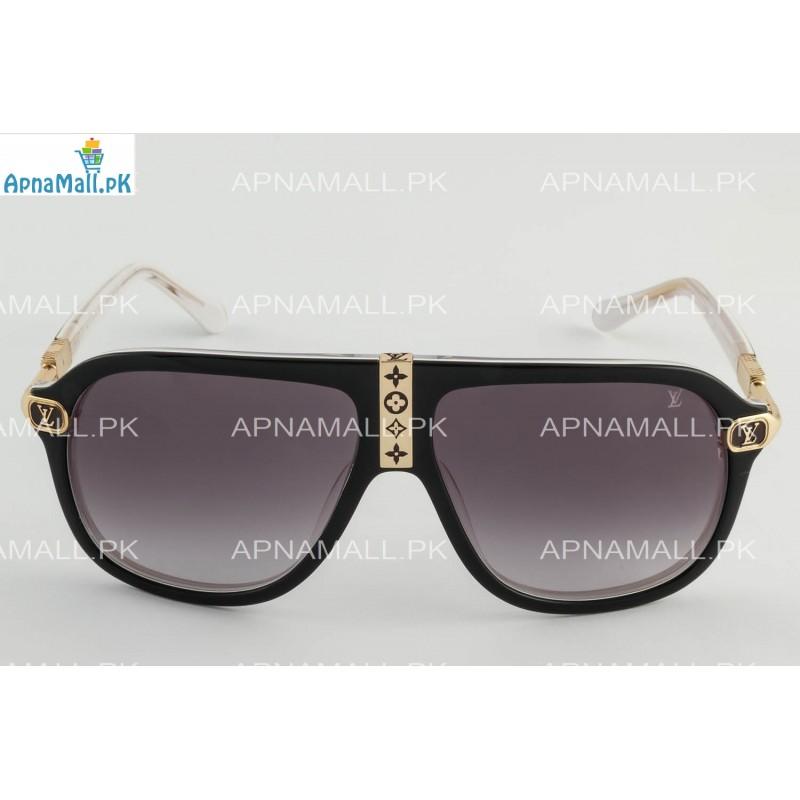 Louis Vuitton Z0850 Golden Black n White