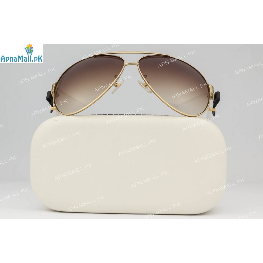 Marc Jacobs Golden White Aviator