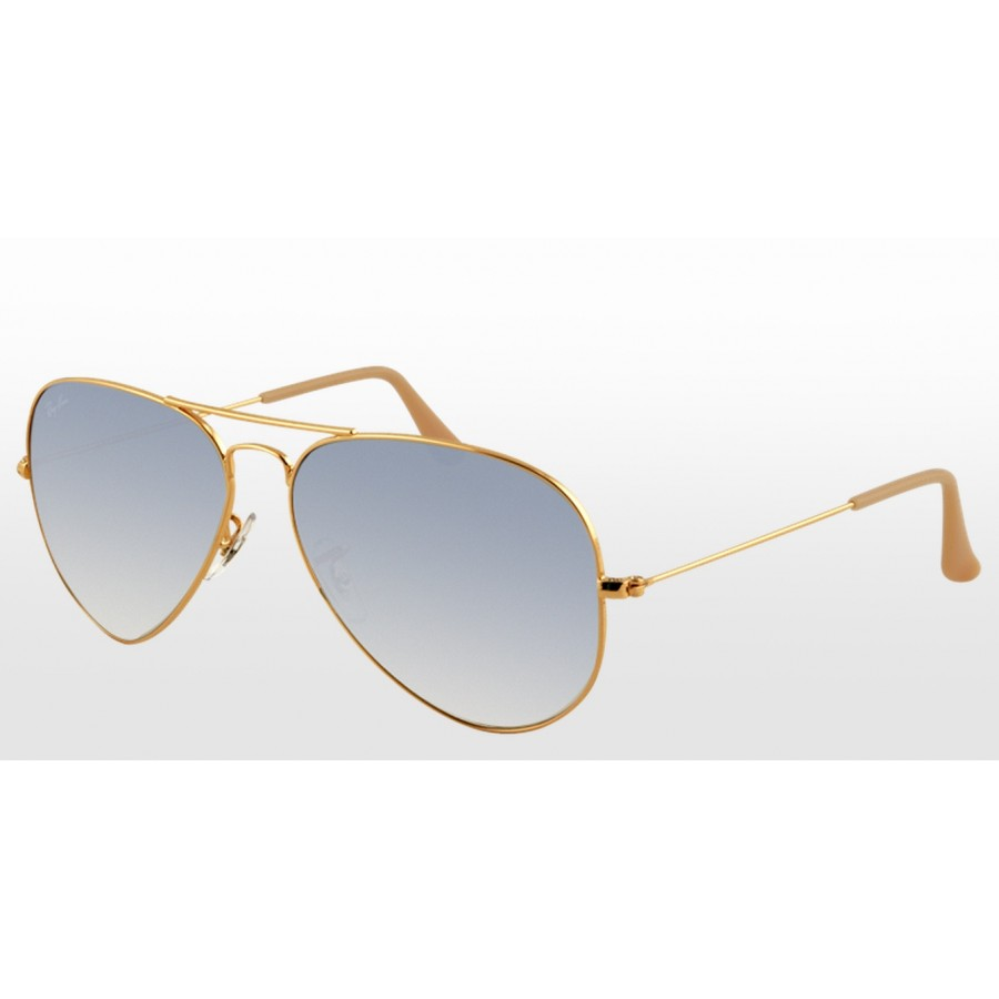 Rayban Aviator Gradient Light Blue