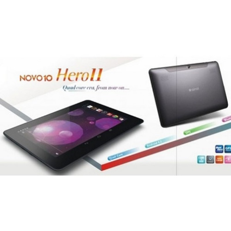 Ainol Novo 10 Hero II Quad Core 10.1 Inch Dual Camera Wifi 16GB Tablet PC