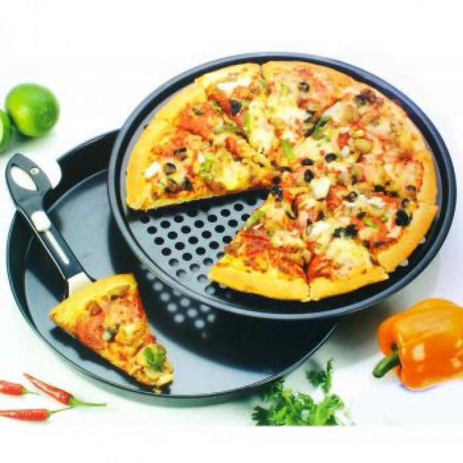 Non-Stick Pizza Pan Set