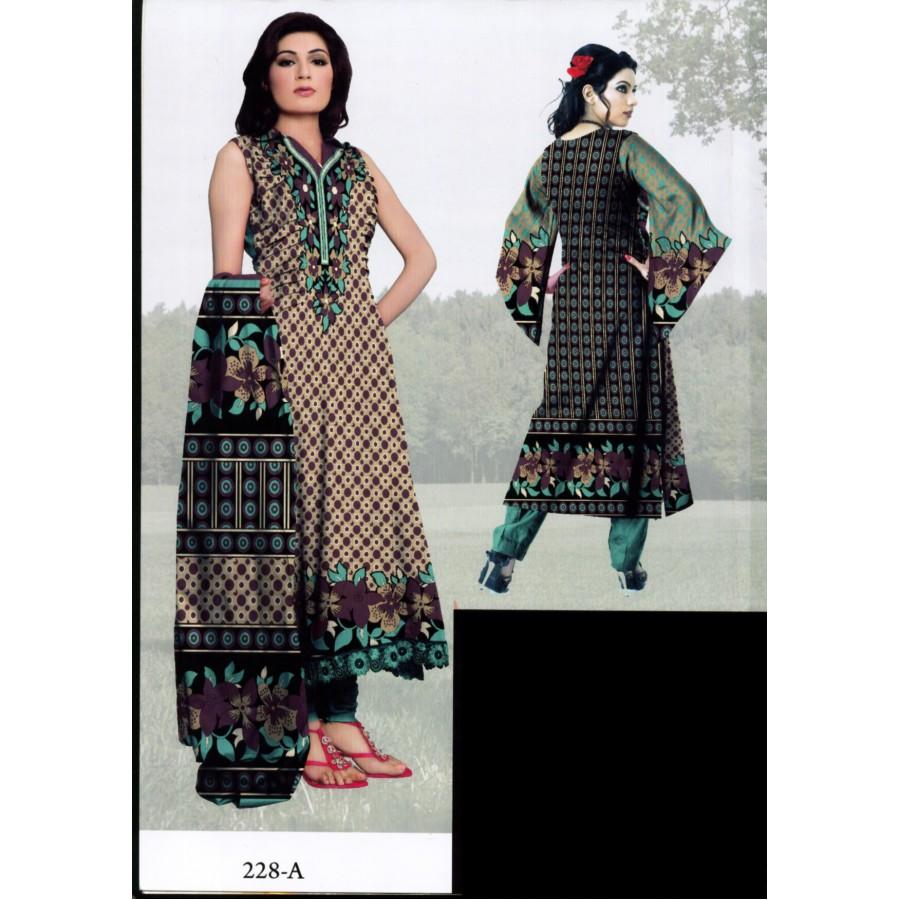228 - Al Karam Classic Cotton Cambric 2015 Volume 1