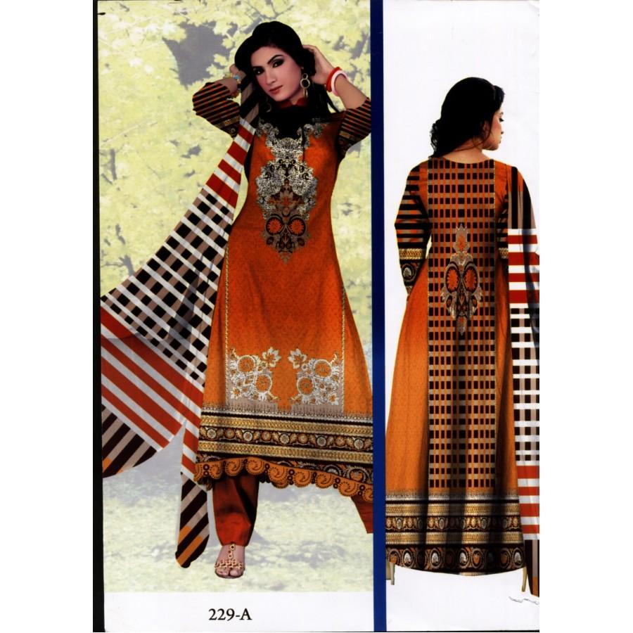 229 - Al Karam Classic Cotton Cambric 2015 Volume 1