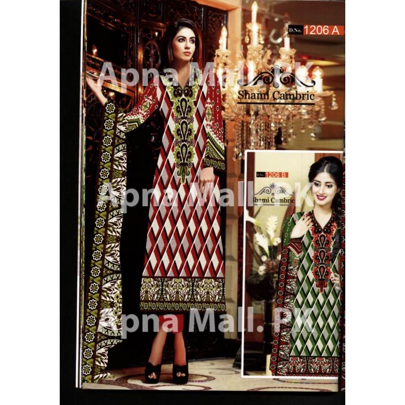 1206 Dawood Shami Cotton Cambric 2015 Volume 01
