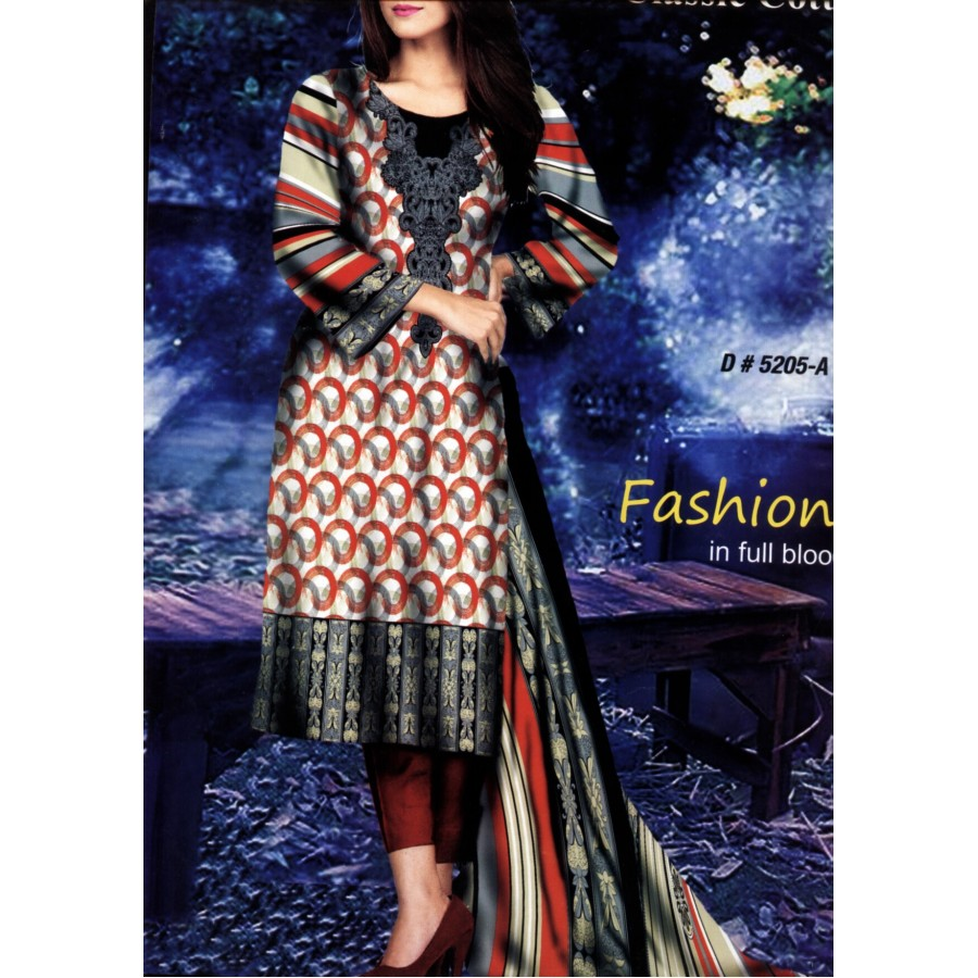 5205 - Zeebaish Classic Cotton Cambric 2015 Volume 1