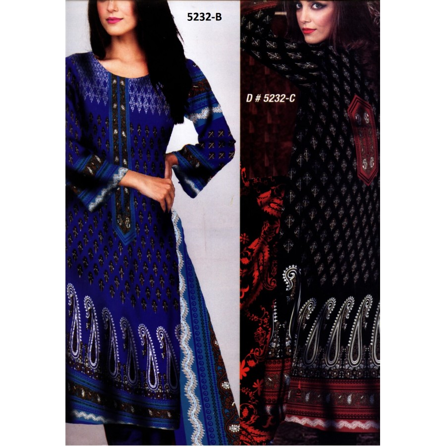 5232 - Zeebaish Classic Cotton Cambric 2015 Volume 1