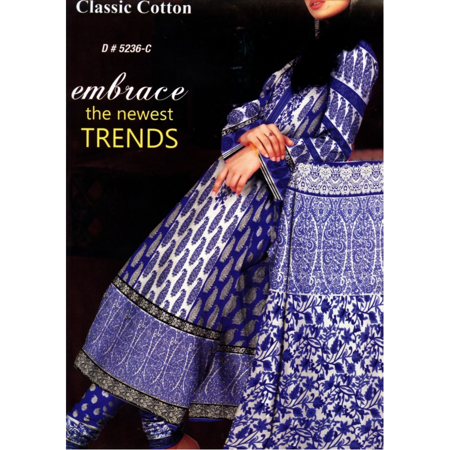5236 - Zeebaish Classic Cotton Cambric 2015 Volume 1