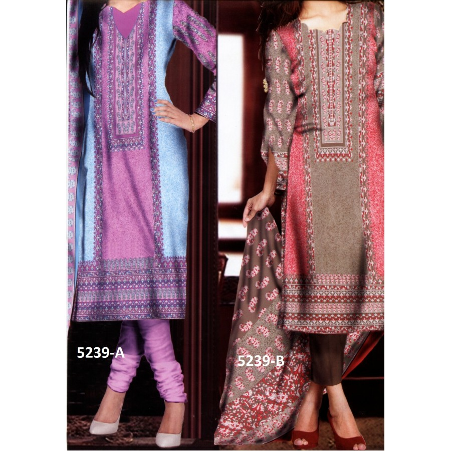5239 - Zeebaish Classic Cotton Cambric 2015 Volume 1