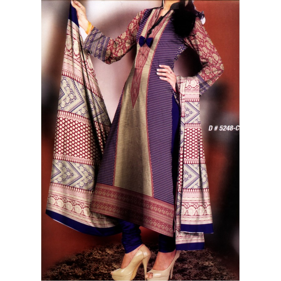 5248 - Zeebaish Classic Cotton Cambric 2015 Volume 1