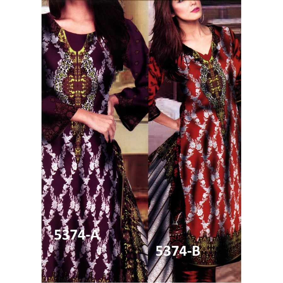 5374 - Zeebaish Classic Cotton Cambric 2015 Volume 1