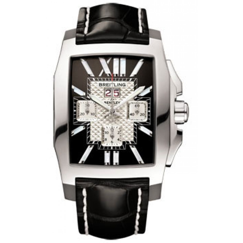 breitling s royal ebony bentley chronograph