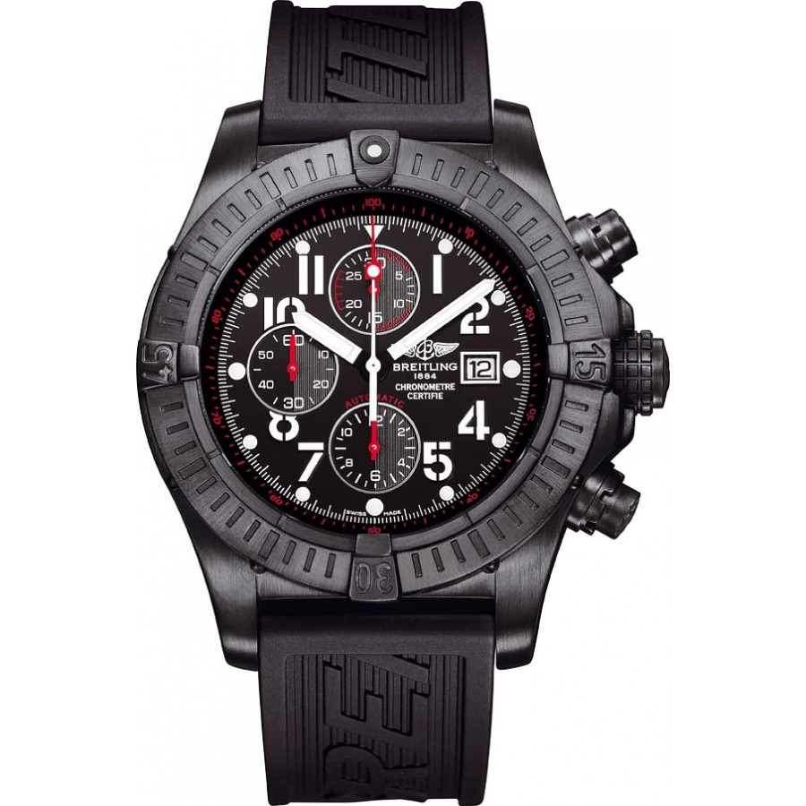 Breitling Super Avenger Blacksteel Chronograph