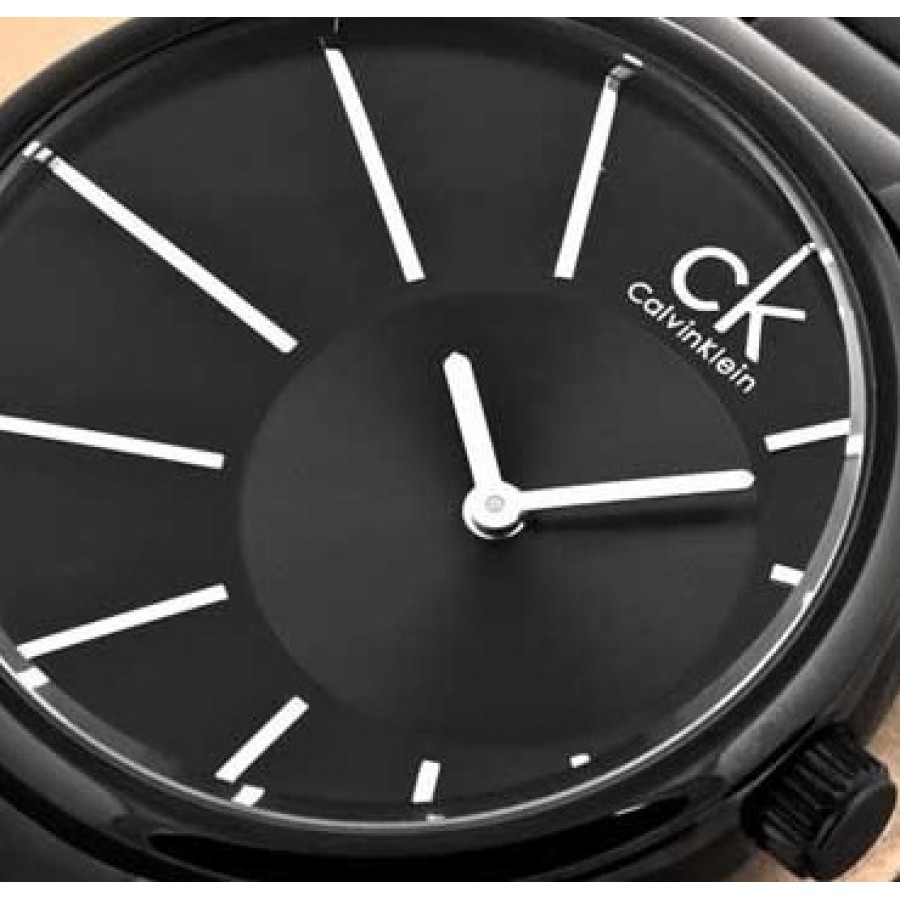 Calvin Klein CK Deluxe Men's Watch Black