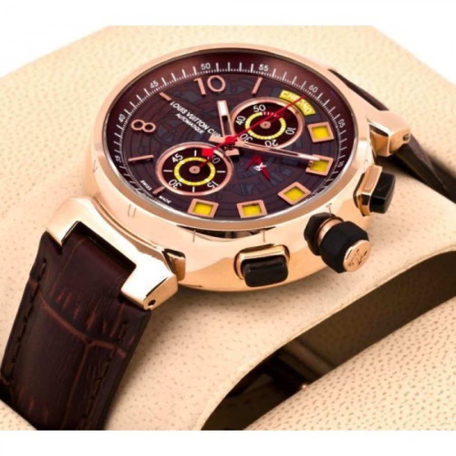 Louis Vuitton Tambour Spin Time Regatta Golden