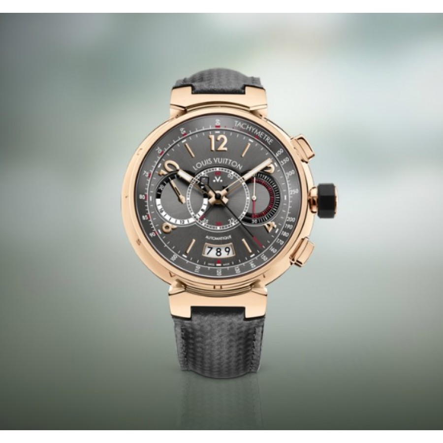 Louis Vuitton Tambour Chronograph Golden