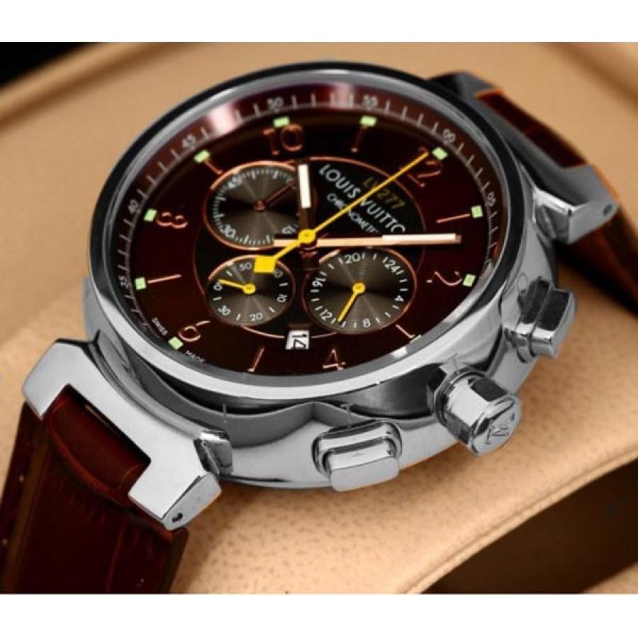 Louis Vuitton Tambour Chronograph Red