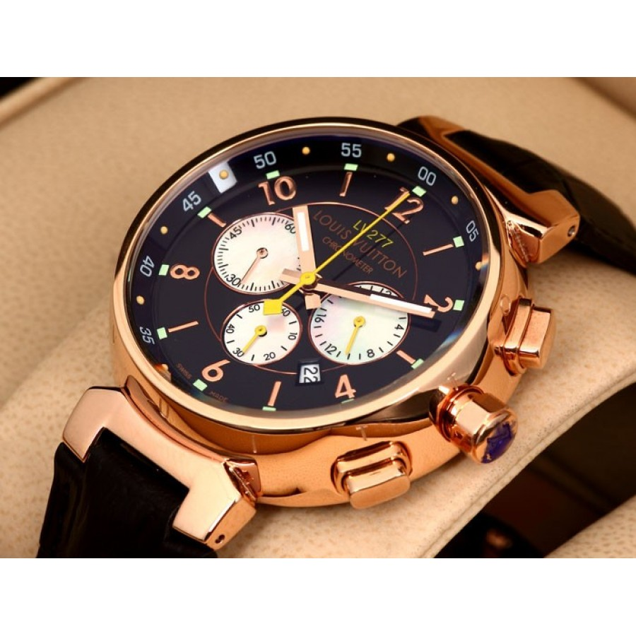 Louis Vuitton Tambour White Chronograph