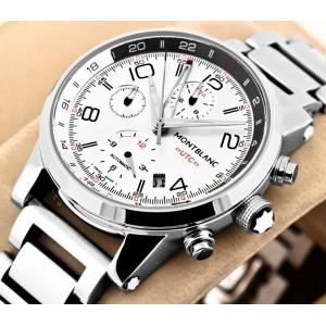 Montblanc Timewalker Chronovoyager UTC White
