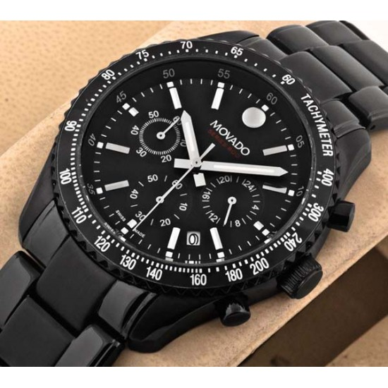 Movado Series 800 Sub-Sea Chronograph Black