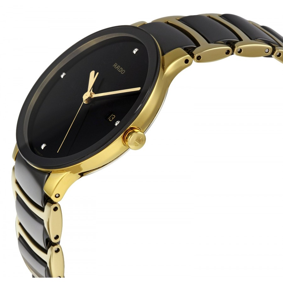 Rado Centrix Jubilé Golden Black