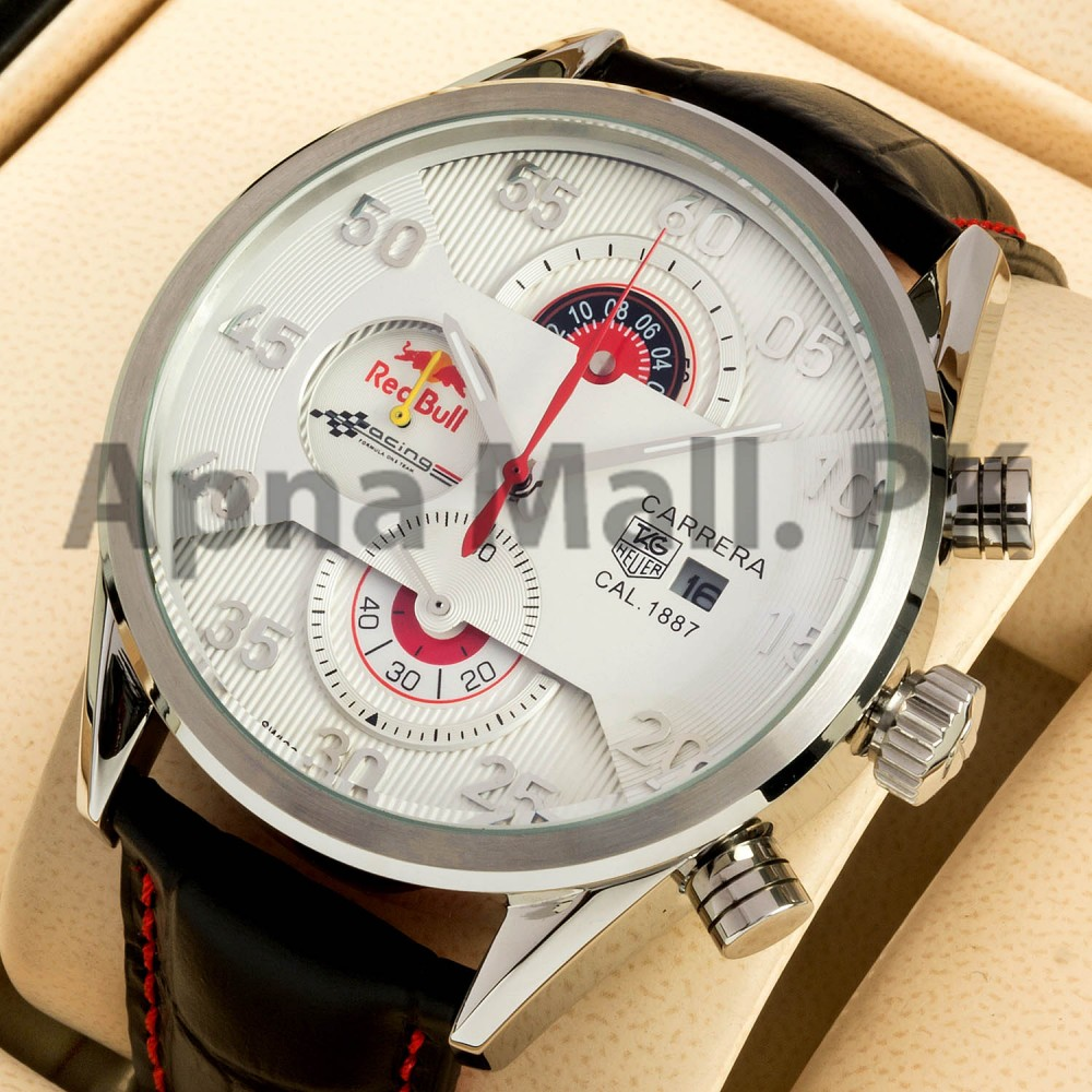 Watches For Men Tag Heuer Carrera Calibre 1887 Red Bull