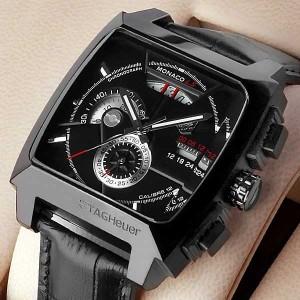 TAGHeuer Monaco LS Chronograph Black
