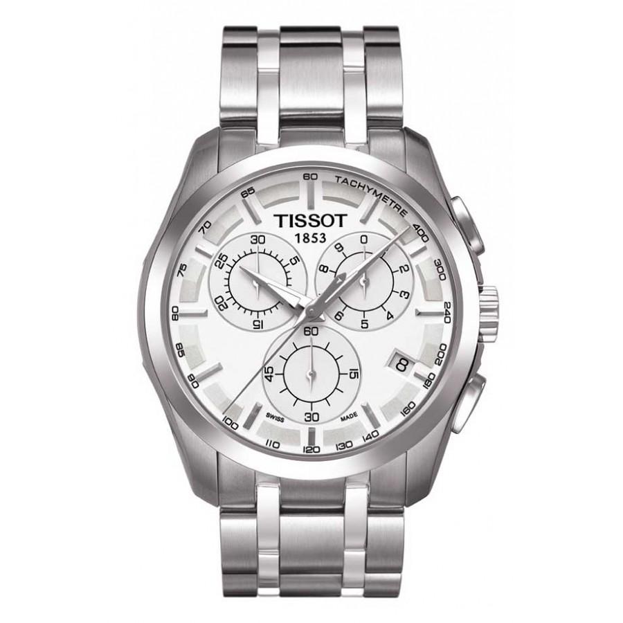 Tissot 1853 Couturier Chronograph White Bracelet