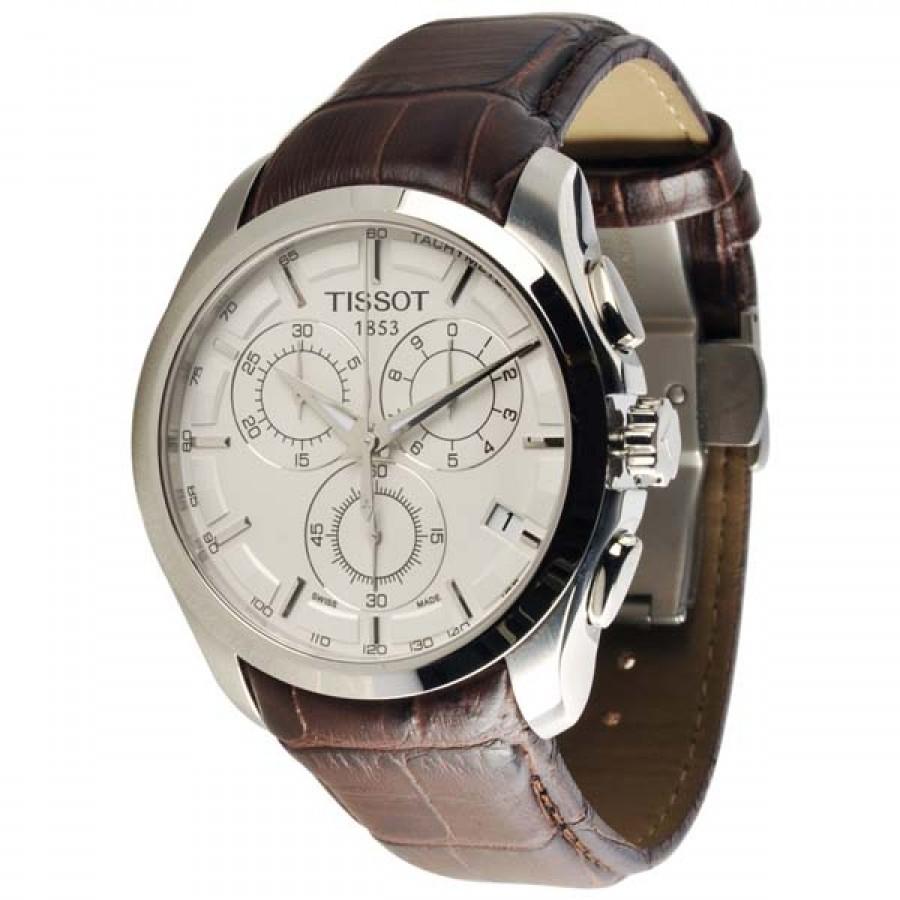 Tissot 1853 Couturier Chronograph White