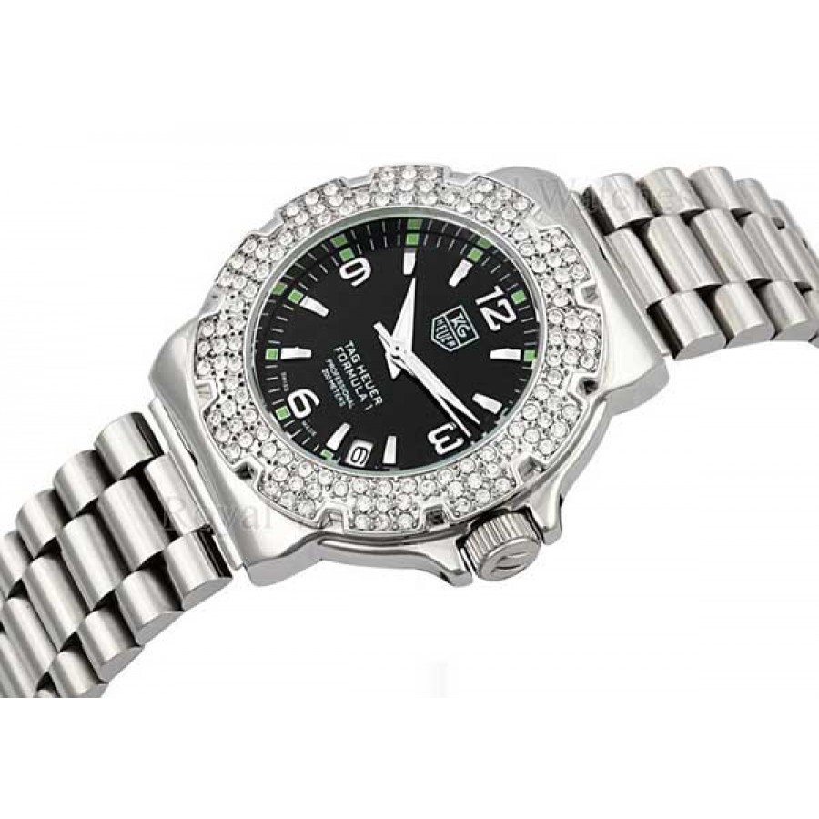 Tag Heuer Formula 1 Glamour Diamonds Black