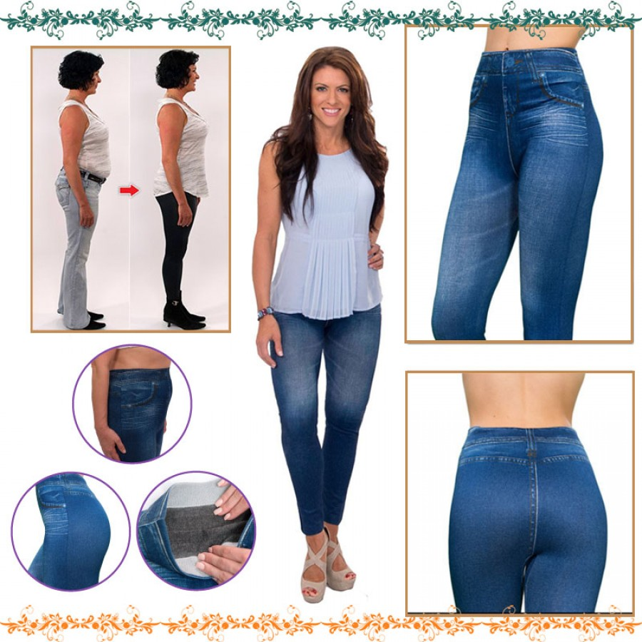 Slim And Lift Caresse Jeans For Her