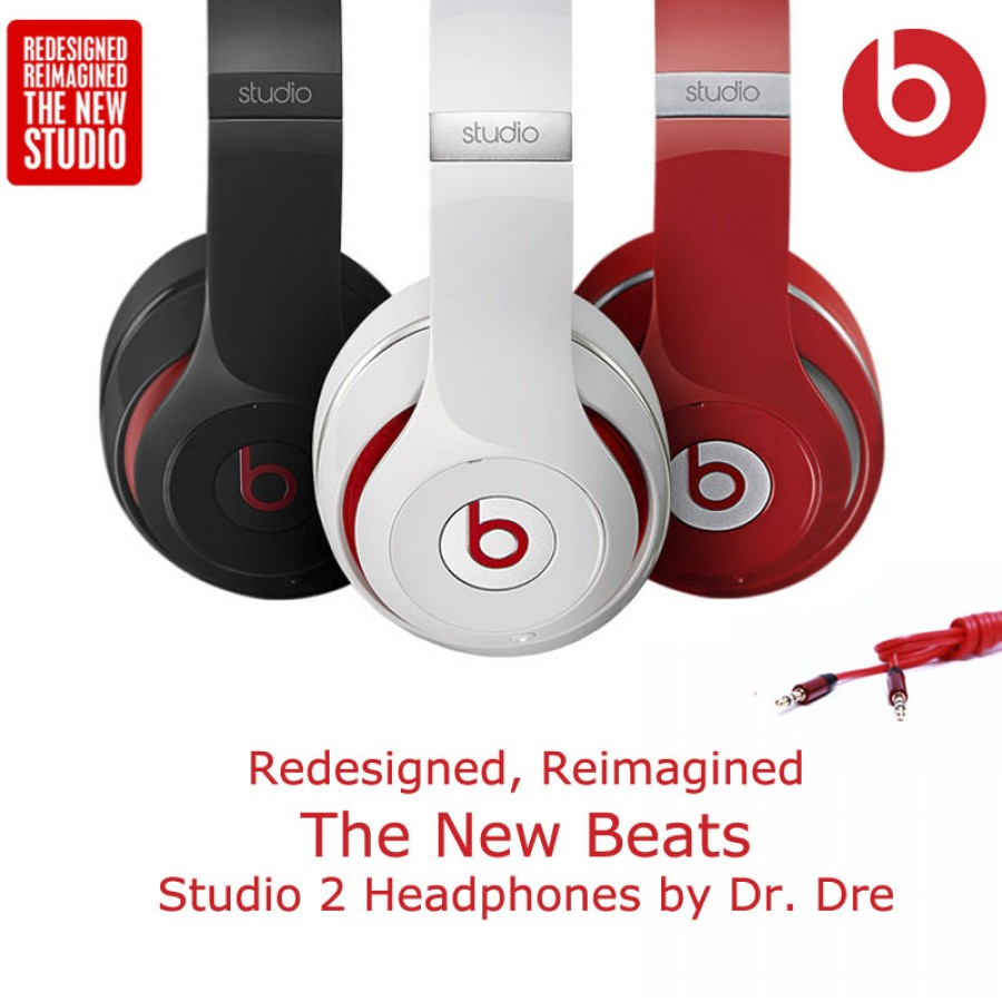 Redesigned, Reimagined – The New Beats Studio 2 Headphones By Dr. Dre