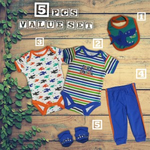 5 Piece Baby Value Set Design 2
